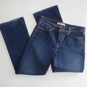 J Brand Jeans women 30 x 29 Boot Cut Dark Wash Cut